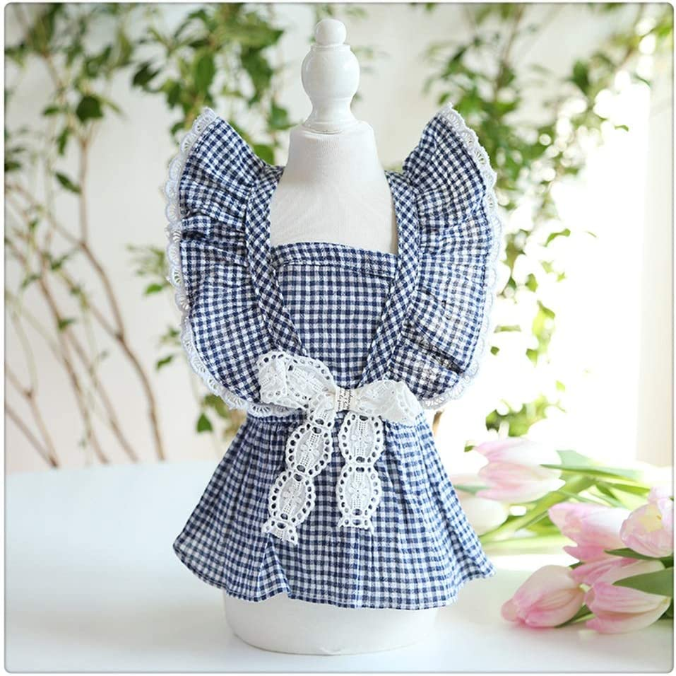 FEGOCLT Newest Ruffle Sleeve Lace Design Clo Blue Our shop most popular 70% OFF Outlet Colors Red Dog