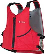Onyx Universal Paddle Life Vest, Red, Universal