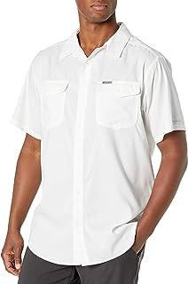 قميص رجالي بأكمام قصيرة سادة من Columbia Utilizer II