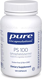 Pure Encapsulations - PS 100 (Phosphatidylserine) - Dietary Supplement to Support Mental Acuity, Memory, and Emotional Well-Being* - 120 Capsules