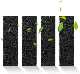 Dioche Juego de Filtro de Repuesto para purificador de Aire, 4 Piezas/Juego de Filtro de Esponja Activado por carbón Accesorios para Filtro AC4800 B FLT4825