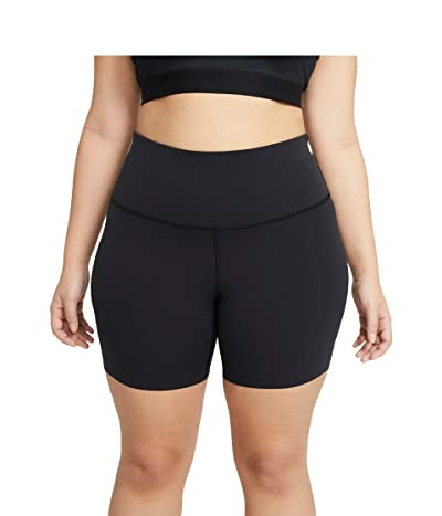 Nike The Yoga Lux 7 Shorts (Sizes 1X-3X) Women