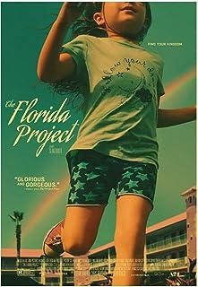 HZLYCH 映画フロリダプロジェクトのキャンバスの絵画が壁に印刷されたリビングルームの装飾用の写真-50X70CMフレームなし