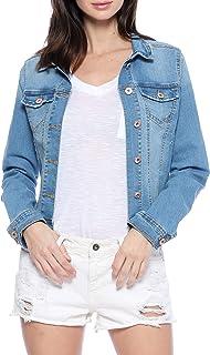 جاكيت جينز مطاطي كاجوال للنساء من Urban Look