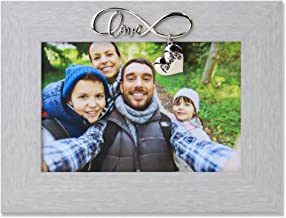 Lawrence Frames Infinity Love Picture Frame, 6x4, Gray
