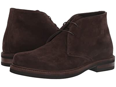 Canali Suede Ankle Boot (Brown) Men