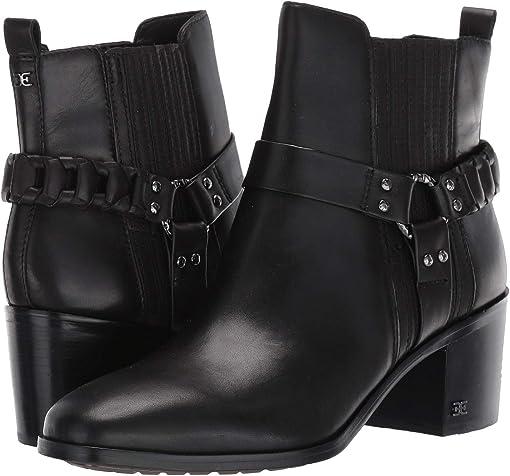 Black Vaquero Saddle Leather