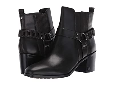Sam Edelman Dalma (Black Vaquero Saddle Leather) Women