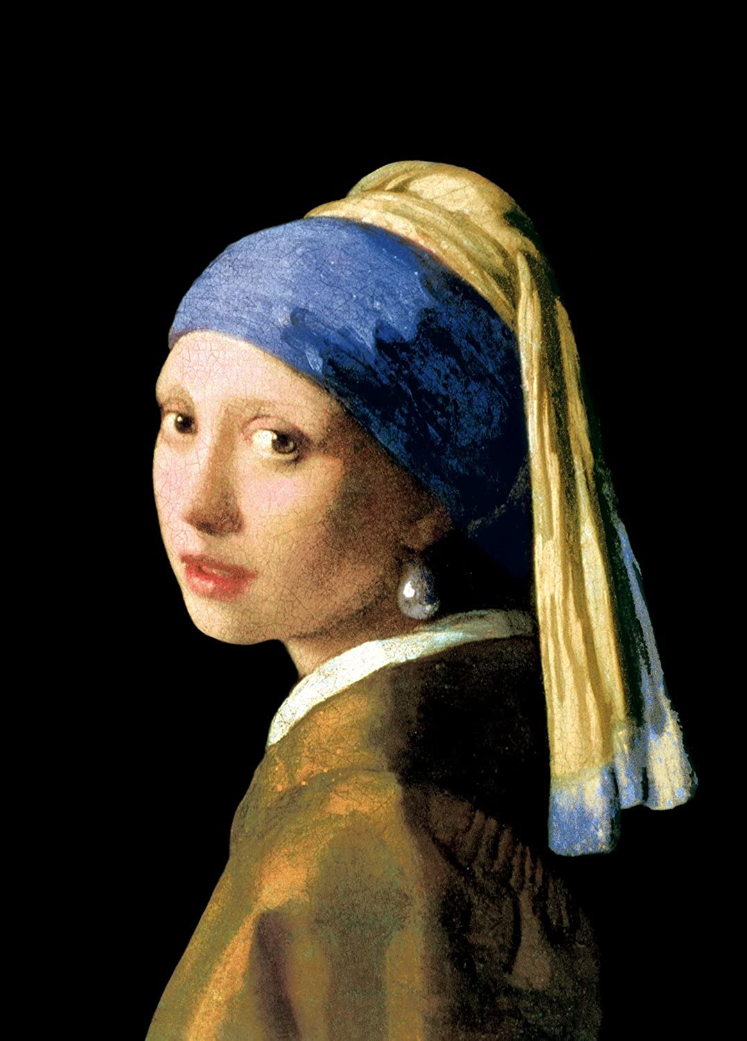 2000 Piece Jigsaw Puzzle of Ultra-Guru EX Girl with a Pearl Earring Super Small Piece (38x53cm)