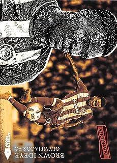 2016-17 Panini Aficionado Artist's Proof Soccer #130 Brown Ideye Olympiacos FC Official Trading Card