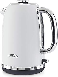 Sunbeam Alinea Electric Kettle   1.7 L   2.4kW Fast Boil   Ocean Mist White   KE2700W