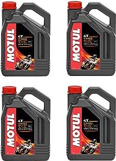Motul 104092 Set of 4 7100 4T 10W-40 Motor Oil 1-Gallon Bottles