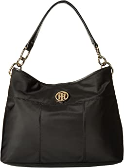 Tommy Hilfiger - The Signature Smooth Nylon Small Hobo