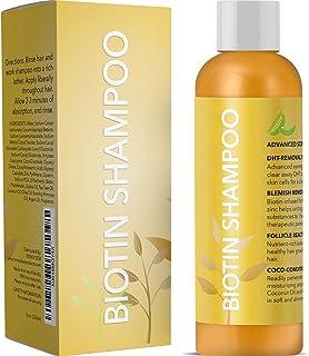 Biotin Shampoo for Hair Growth & Hair Loss - Conditioning Thinning Treatment Shampoo for Men & Women with Vitamin B5 & Zin...