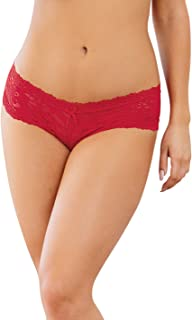 Women's Stretch Lace Cheeky Hipster Panty