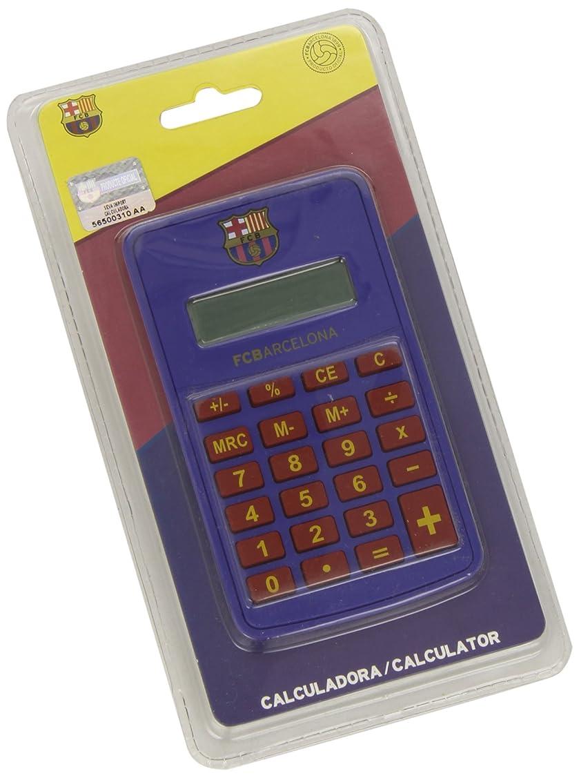 次課す試すFc Barcelona Calculator (pocket - Blue)