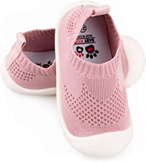 1 pair Soft Baby Chaussure Infant Girls Flower Printed Cloth Boots Crib Sho A2A0