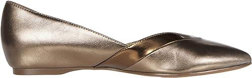 Bronze Metallic Leather
