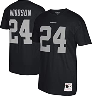 Charles Woodson Oakland Raiders Retired Player Name & Number T-Shirt