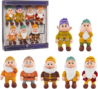 Disney Treasures from The Vault, Limited Edition The Seven Dwarfs Plush Set, Amazon Exclusive