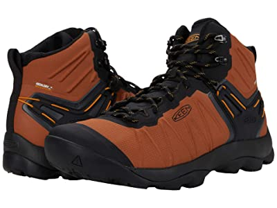 KEEN Venture Mid Waterproof (Caramel Cafe/Sunflower) Men