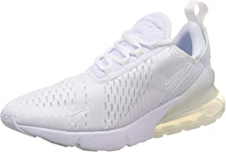 Nike Mens Air Max 270 Running Shoes White/White-White AH8050-101 Size 12
