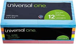 Standard Self-Stick Bright Pads, 3 x 3, 4 4 4 Farbes, 12 100-Sheet Pads Pack B000GLSFQ4  Gewinnen Sie das Lob der Kunden bb5a3a