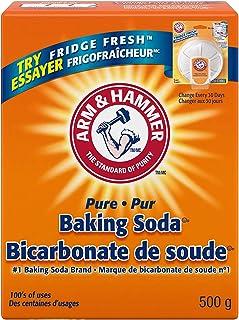 Arm and Hammer Baking Soda, 500 g, fridge fresh