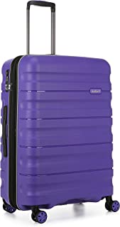 Antler 4227105016 Juno 2 4W Medium Roller Case Suitcases (Hardside), Purple, 68 cm