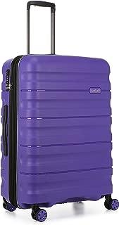 Antler 4227105016 Juno 2 4W Medium Roller Case Suitcases (Hardside), Purple, 68 cm