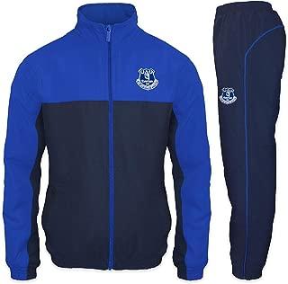 Everton FC Official Soccer Gift Mens Jacket & Pants Tracksuit Set