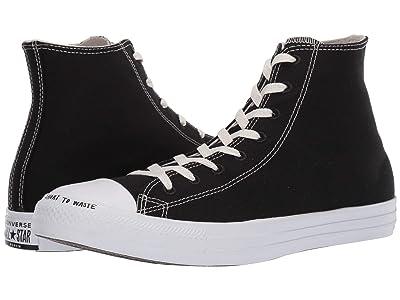 Converse Chuck Taylor Renew (Black/Black/White) Classic Shoes