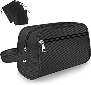 Hanging Toiletry Bag - Portable Travel Bags for Men/Women, Shaving/Grooming/Cosmetic/Toiletries, 4 Sizes Shoes Organizer P...