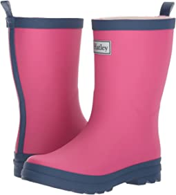 Hatley Kids Fuchsia & Navy Rain Boots (Toddler/Little Kid)