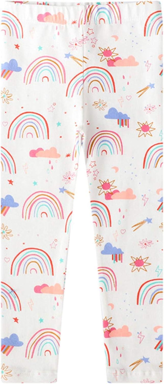 Aislor Kids Girls Cotton Pants Leggings Stretch Wai Max 79% OFF Elastic Yoga Our shop OFFers the best service