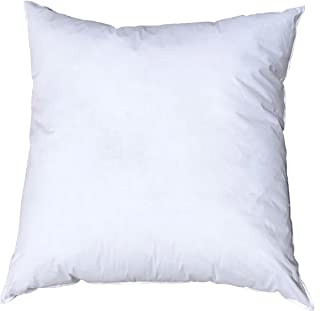 Pillowflex 17x17 Inch Premium Polyester Filled Pillow Form Insert - Machine Washable - Square - Made In USA