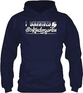 Kindergarten Teacher, I Survived Kindergarten Unisex Long Sleeve HoodiesGift Cool Tshirt, Unisex Tee Shirt, Clothes