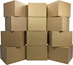12 Large Moving Boxes 20x20x15-inches Packing Cardboard Boxes