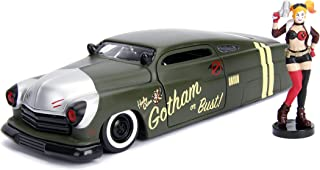 Jada Toys DC Comics Bombshells Harley Quinn & 1951 Mercury Die-cast Car, 1: 24 Scale Vehicle & 2.75