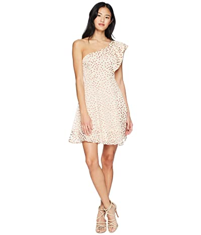 ASTR the Label Megan Dress (Cream/Clay Dot) Women