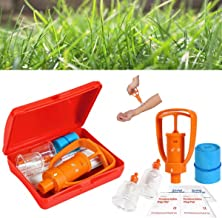 GENERIC Venom Extractor Pump First Aid Safety Kit Emergency Snake Bite Survival Tool SOS