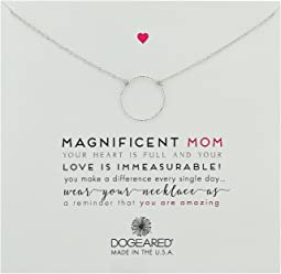 Dogeared - Magnificent Mom, Little Sparkle Karma Necklace