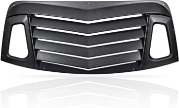 Best challenger back window louvers Reviews