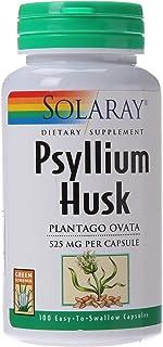Solaray Psyllium Husk, Veg Cap (Btl-Plastic) 525mg | 100ct