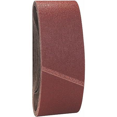 Starcke 713B Lot de 10 bandes abrasives non perfor/ées grain 80 115 x 280 mm