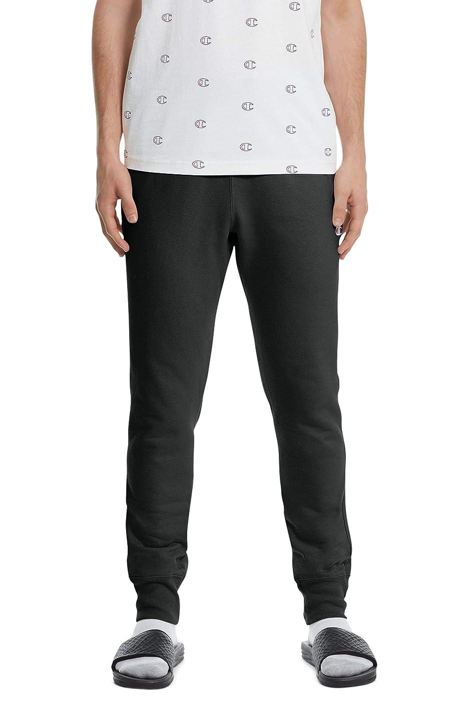巨大アライメントウガンダ[チャンピオン] メンズ カジュアルパンツ Champion Reverse Weave Jogger Pants [並行輸入品]