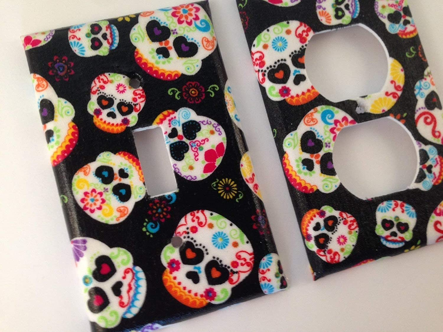 Sugar Skull Max 70% OFF Light Switch Sizes Offered Daily bargain sale Cover Various