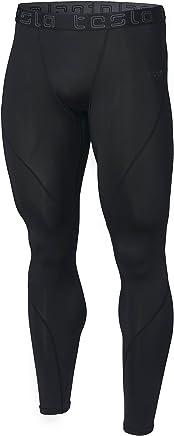 Tesla Men's Compression Pants Baselayer Cool Dry Sports Tights Leggings MUP19