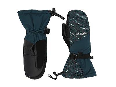 Columbia Whirlibirdtm Mitten (Dark Seas Sparkler Print) Snowboard Gloves