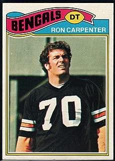 Football NFL 1977 Topps #168 Ron Carpenter Bengals